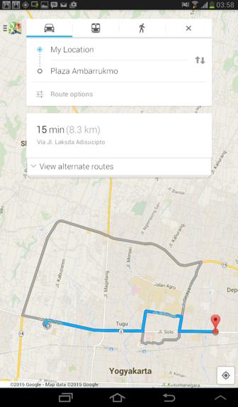 GMaps: Google Map